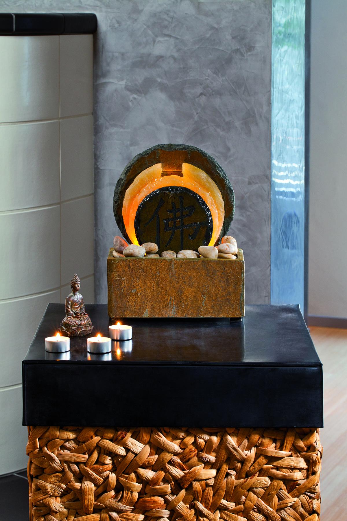 Pokojová kamenná fontánka Relax Tian